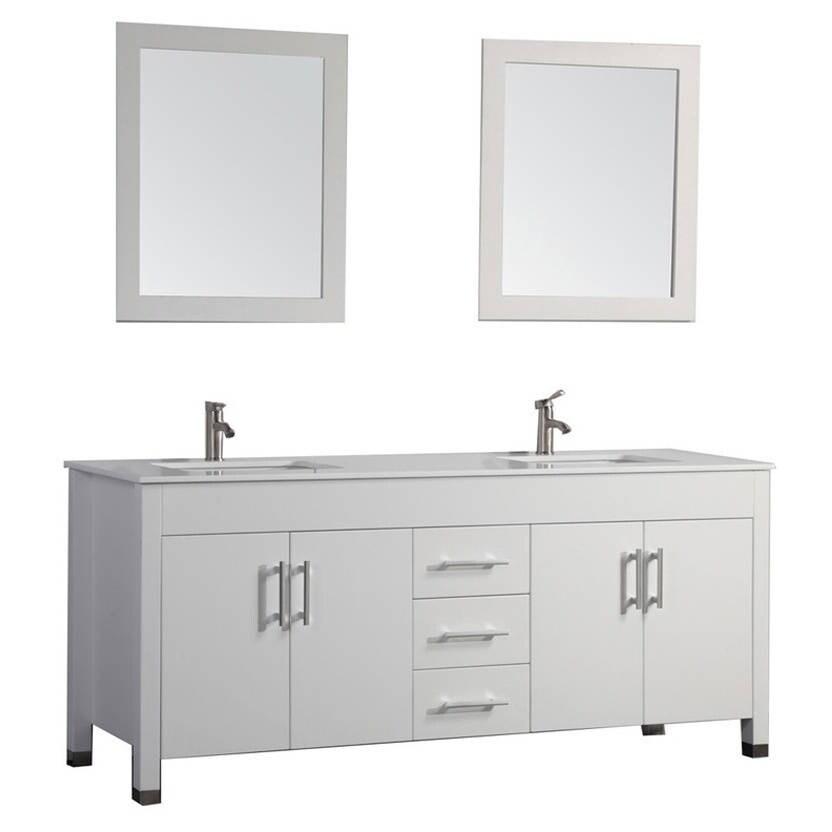 MTD Vanities Monaco 63-inch Double Sink Bathroom Vanity ...
