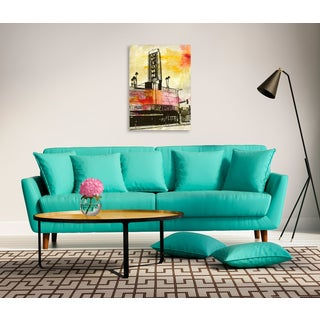 Gallery Direct Sara Abbott 'The Uptown' Gallery Wrapped Canvas