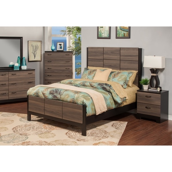 Shop sandberg furniture nova two nightstand bedroom set - Nova bedroom furniture collection ...