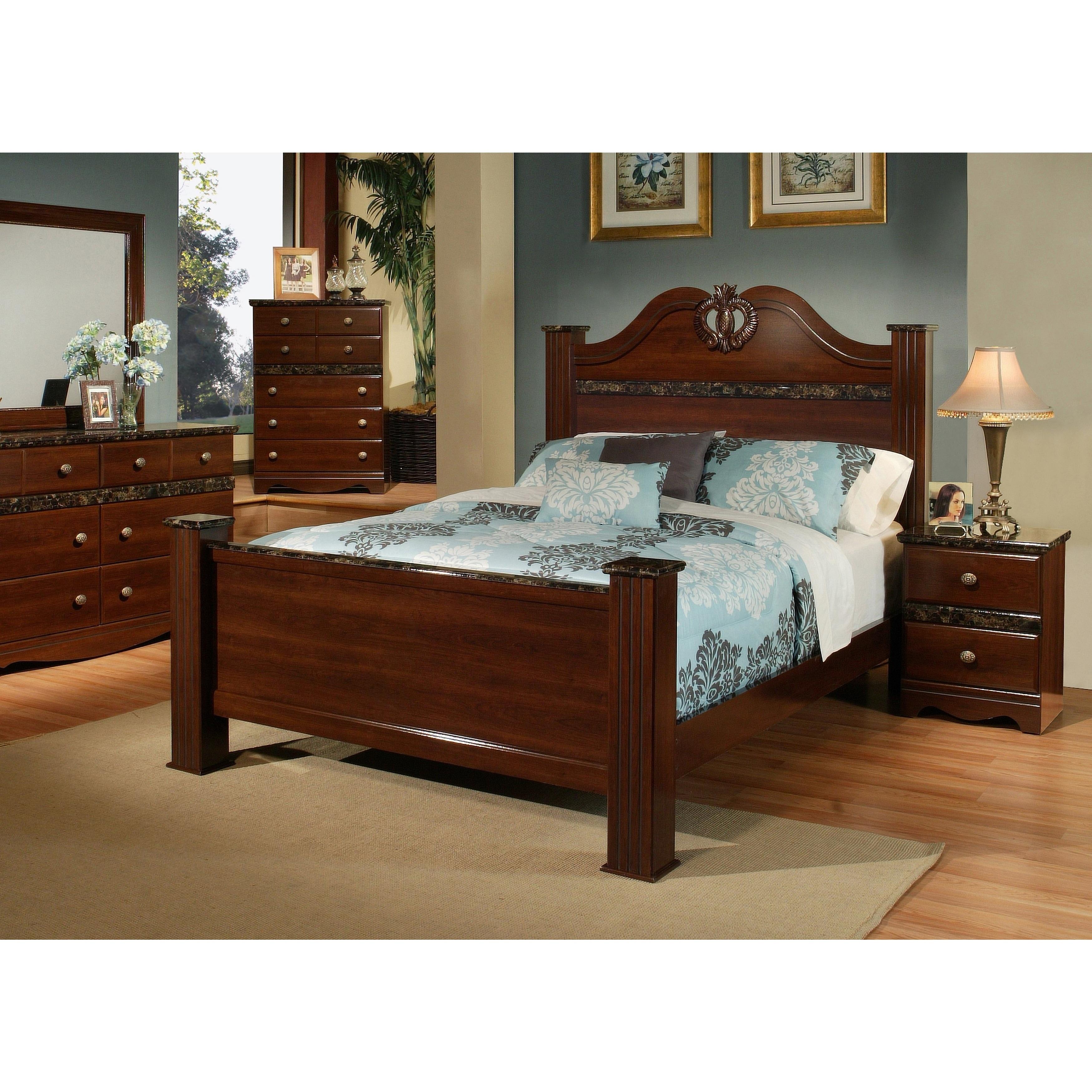 Sandberg Furniture Camden Two Nightstand Bedroom Set (Cal...
