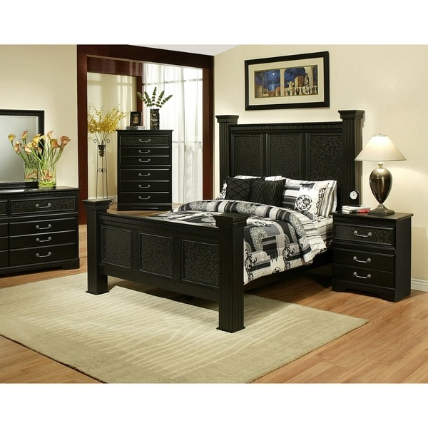Shop Sandberg Furniture Granada Two Nightstand Bedroom Set Free Shipping Today