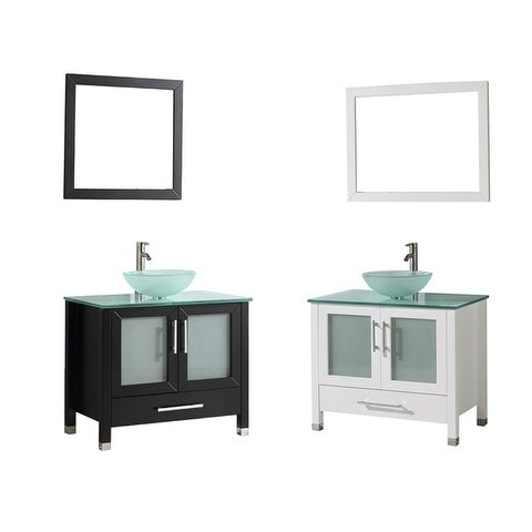 Mtd Vanities Cuba 36 Inch Single Sink Bathroom Vanity Set With Mirror And Faucet Free Shipping