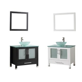Cuba 36-inch Single Sink Bathroom Vanity Set