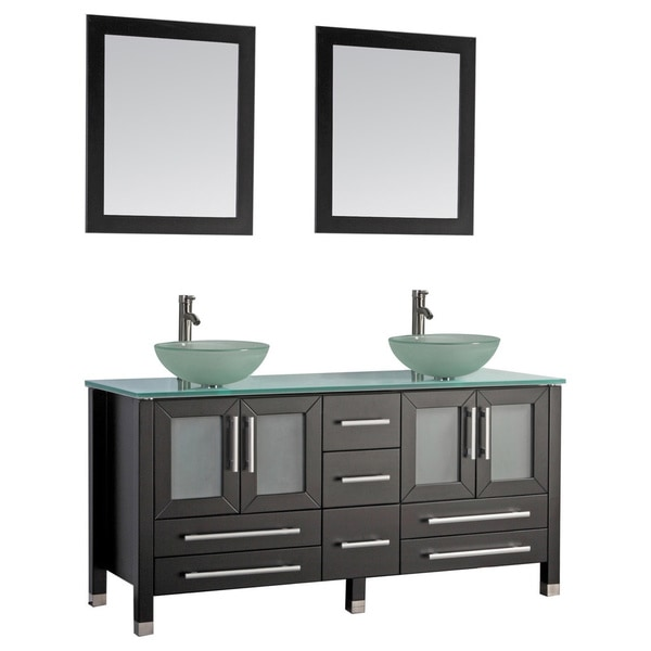 Image Result For Monaco Inch Double Sink Bathroom Vanity Set With Mirror And