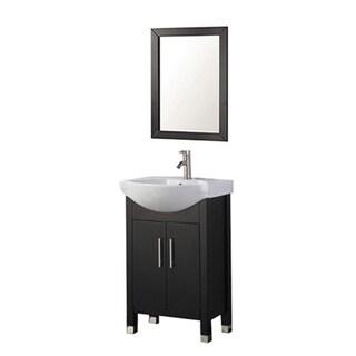 MTD Vanities Peru 20-inch Single Sink Bathroom Vanity Set with Mirror and Faucet