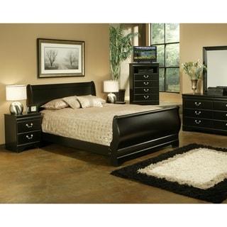 black bedroom furniture sets. Sandberg Furniture Regency Bedroom Set Black Sets F