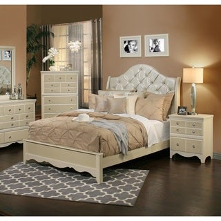 Sandberg Furniture Marilyn Two Nightstand Bedroom Set