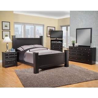 Sandberg Furniture Elena Two Nightstand Bedroom Set