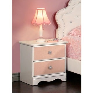 Sandberg Furniture Sabrina 2-drawer Nightstand