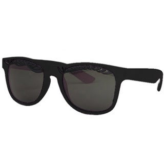 Unisex Eyelash Sunglasses with Black Frames