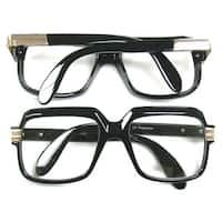 Oversized Black Hip Hop Glasses