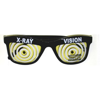 Yellow X-ray Vision Glasses