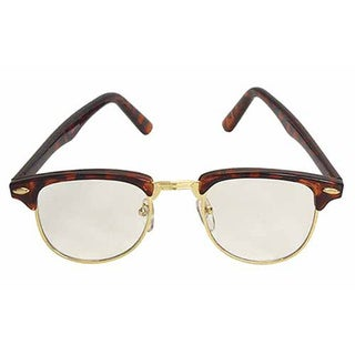 Nerdy Soho Glasses with Tortoise and Gold Frames