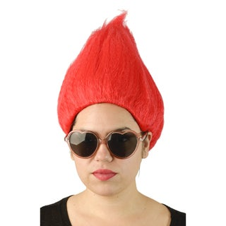 Adult Red Tall Wig