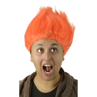 Adult Tall Orange Wig