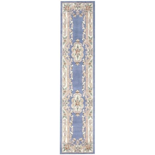 "Iona Hand-Tufted Wool Oriental Runner (2'3"" x 10') - 2.5' x 10'"