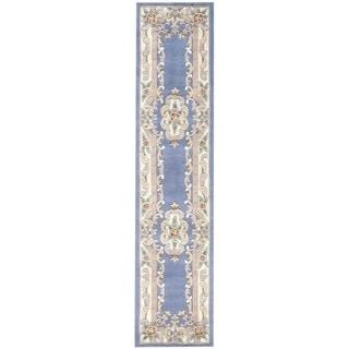 Heritage Blue Runner Rug (2.5' x 10')