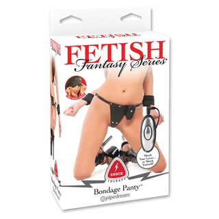 Fetish Fantasy Shock Therapy Bondage Panty and Cuffs