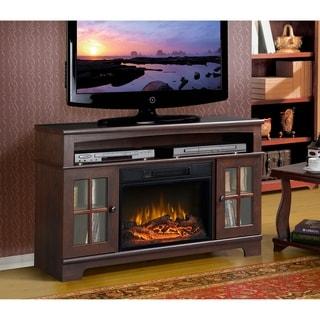 Zarate Metal 44.5-inch-wide Media Fireplace
