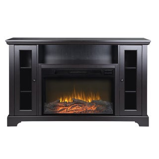 Kingwood 57-inch Wide Media Fireplace in Espresso