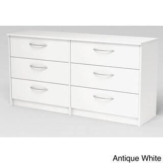 Homestar Finch Espresso 6-drawer Dresser