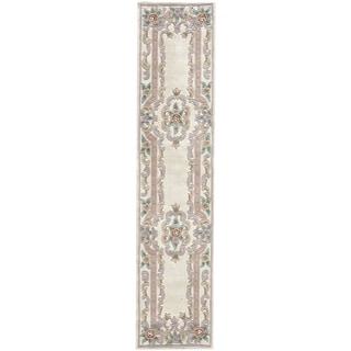Heritage Ivory Runner Rug (2.5' x 10')