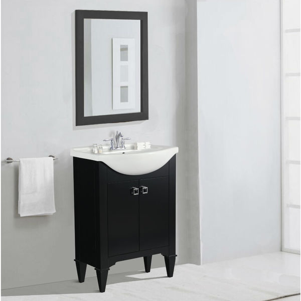 Shop Legion Furniture 24 Inch Espresso Single Sink Vanity