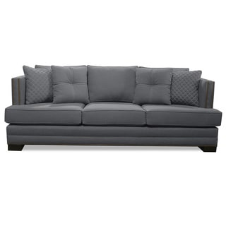 South Beach Lux Linen Sofa