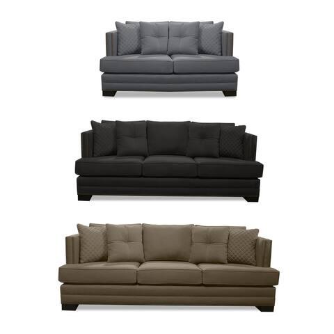 South Beach Lux Linen Sofa