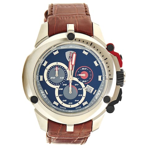Tonino Lamborghini Men's Shield Series Chronograph Watch