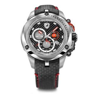 tonino lamborghini watches overstock com the best prices on tonino lamborghini men s shield series chronograph watch