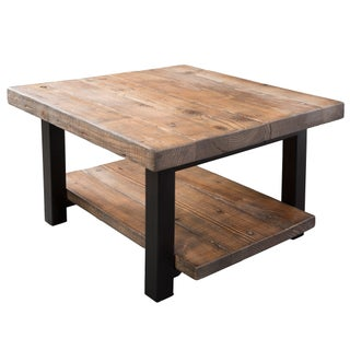 The Gray Barn Michaelis Reclaimed Cube Coffee Table
