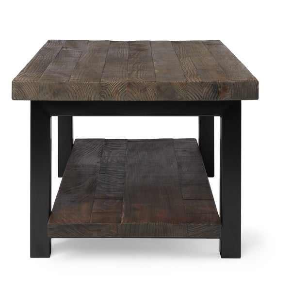 Alaterre Pomona Reclaimed Wood and Metal 42 inch Coffee Table   Free  Shipping Today   Overstock com   17511833. Alaterre Pomona Reclaimed Wood and Metal 42 inch Coffee Table
