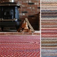 Rhody Rug Augusta Oval Braided Wool Rug by Rhody Rug (3' x 5') - 3' x 5'