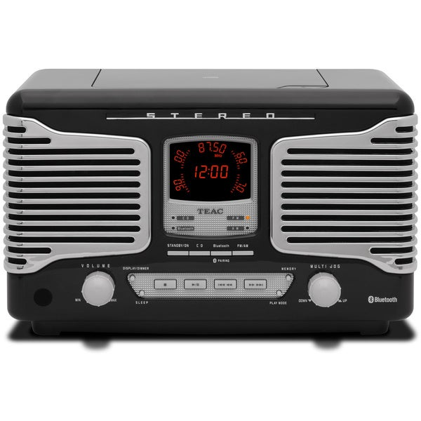 afff64d87 Shop TEAC SL-D800BT CD  USB  AM FM Radio  Bluetooth Wireless Retro ...