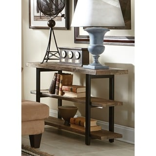Carbon Loft Lawrence Rustic Media Console