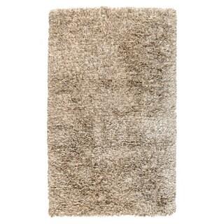 Kosas Home Handwoven Isador Sand Shag Rug (5' x 8')