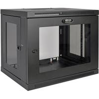 Tripp Lite 9U Wall Mount Rack Enclosure Server Cabinet w/ Acrylic Gla