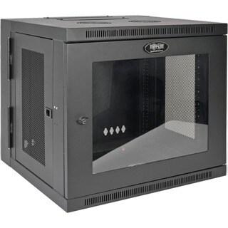 Tripp Lite 10U Wall Mount Rack Enclosure Server Cabinet w/Swinging Door Acrylic Window