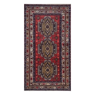 Handmade One-of-a-Kind Balouchi Wool Rug (Afghanistan) - 3'5 x 6'4