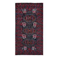 Handmade Herat Oriental Afghan Tribal Balouchi Wool Rug  - 3'6 x 6'7 (Afghanistan)