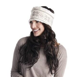 Muk Luks Women's Snowflake Nordic Headband