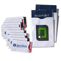 10 Credit Card and 2 Passport Holders Case Set  with Anti-theft RFID Blocking Capabilities for Security