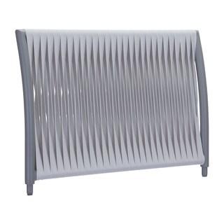Sand Beach Grey and Light Grey Arm Side/ Backrest Chair