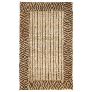 Kosas Home Duncan 4x6 Braided Bordered Rug