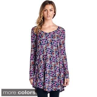 Women's Print Tunic Top