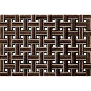 Outdoor Weave Brown Doormat (18 x 30)