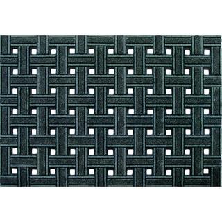 Outdoor Weave Gray Doormat (18 x 30)