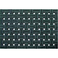 Outdoor Weave Gray Doormat (2' x 3')