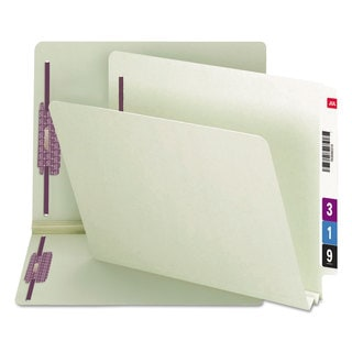 Smead Gray Green Two Inch Expansion Folder (Box of 25)
